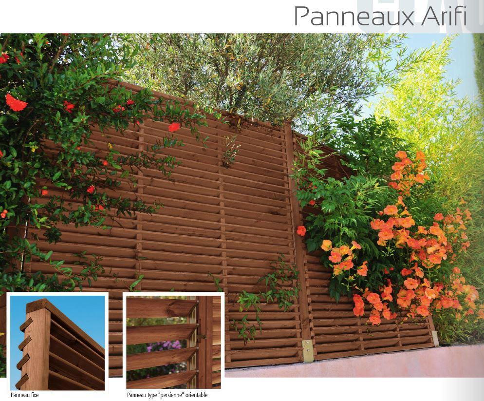 panneaux pare vue 72 sarthe espace bois et decoration. Black Bedroom Furniture Sets. Home Design Ideas